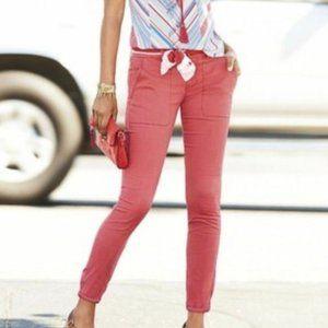Cabi #5178 Nantucket Red Hutton Jogger Pants 2